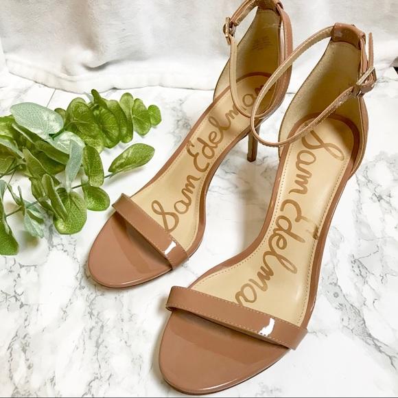 df351f0041d6 Sam Edelman Nude Patti Sandal Strappy Heels. M 5c5f0c803e0caac1451bc28f